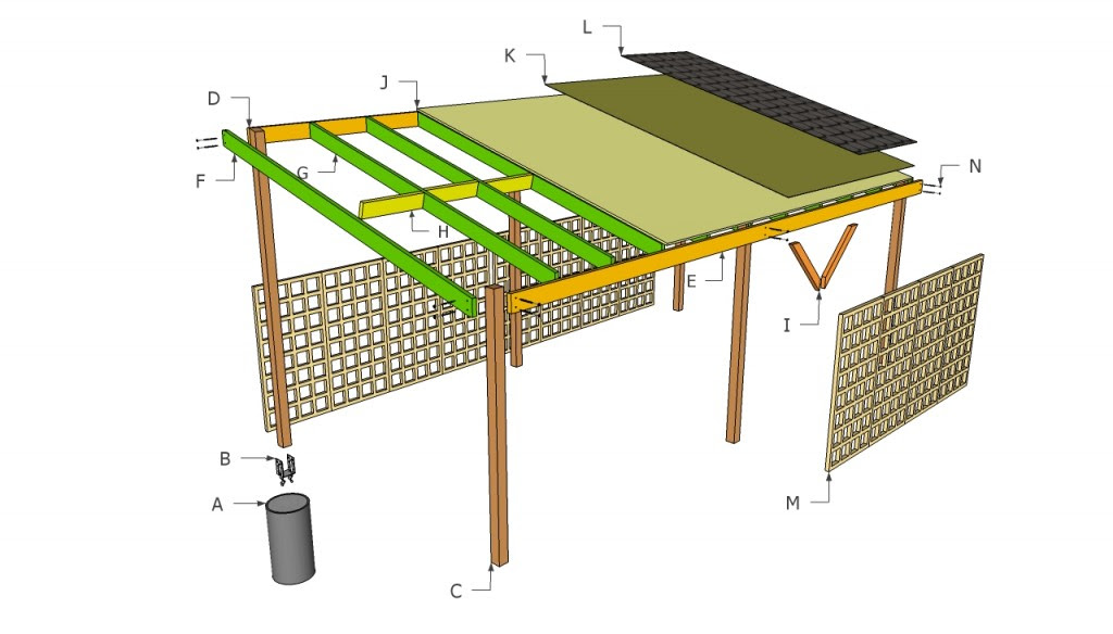 Wooden carport plans | HowToSpecialist - How to Build ...