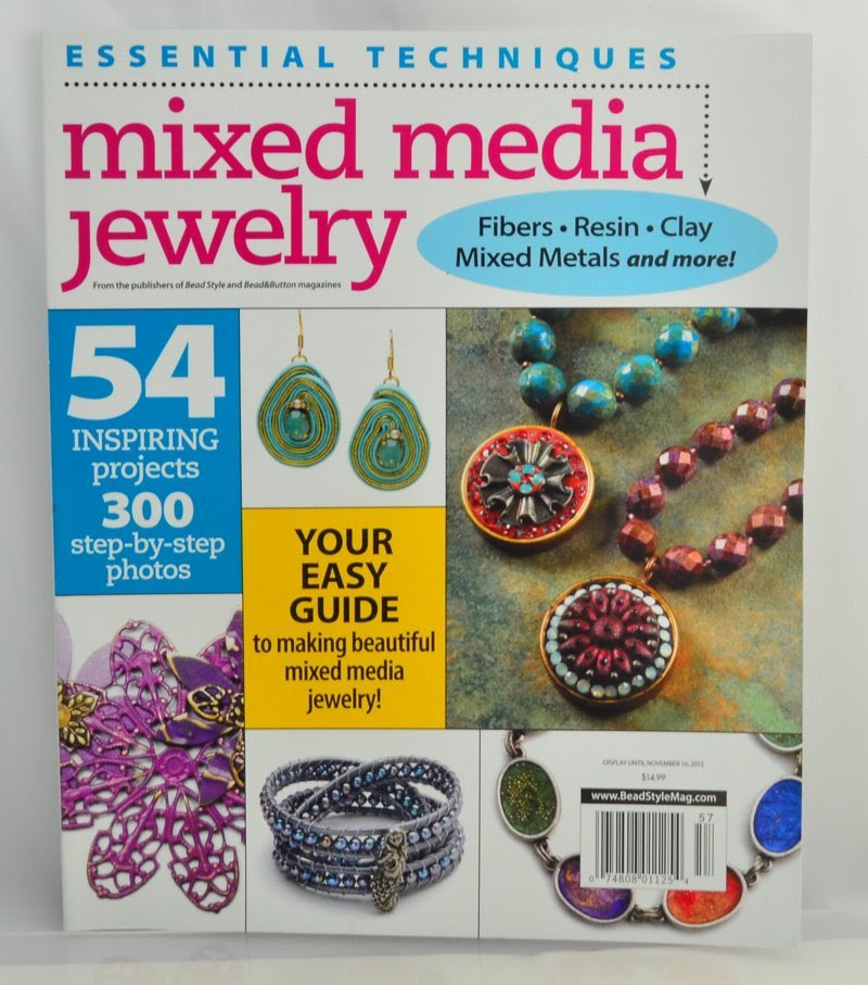 s46485 Book -  Essential Techniques - Mixed Media Jewelry