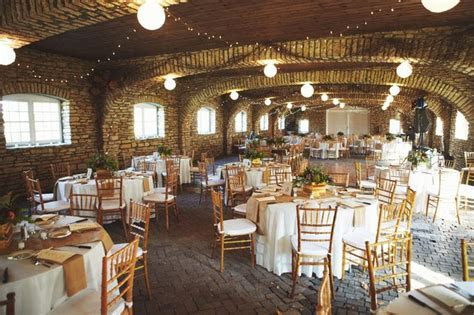 fall wedding reception at Mayowood Stone Barn in Rochester