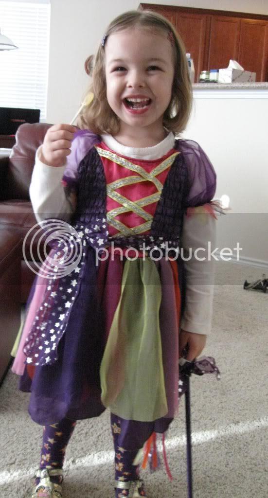 magical princess Halloween costume