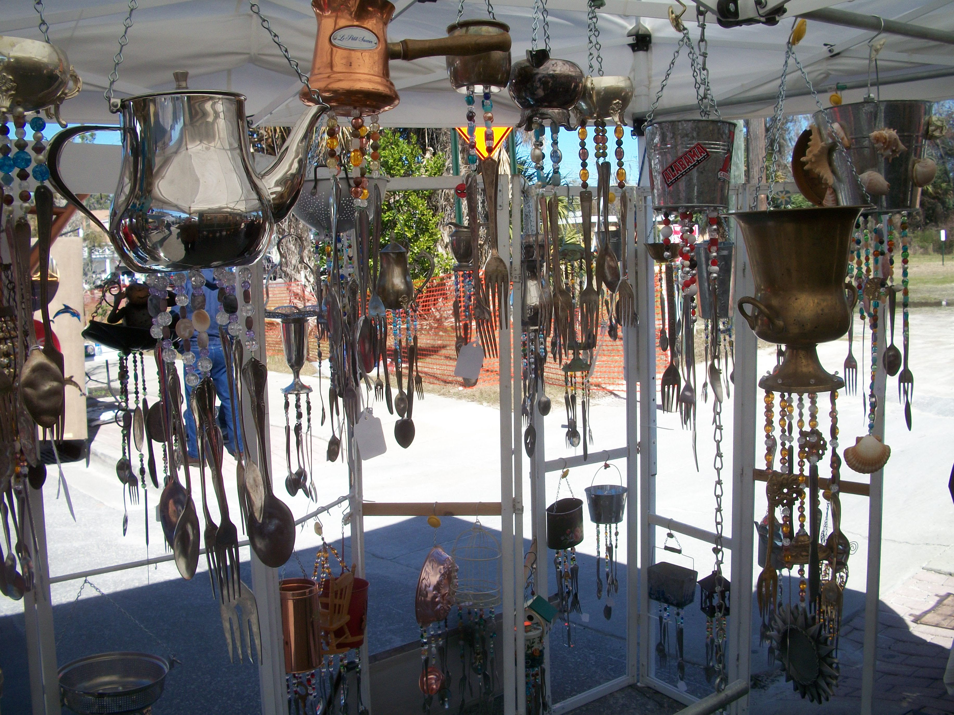Best of Chimes: Windchimes and home decor made from recycled ...