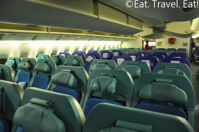 B-KPA, Economy Class Cabin