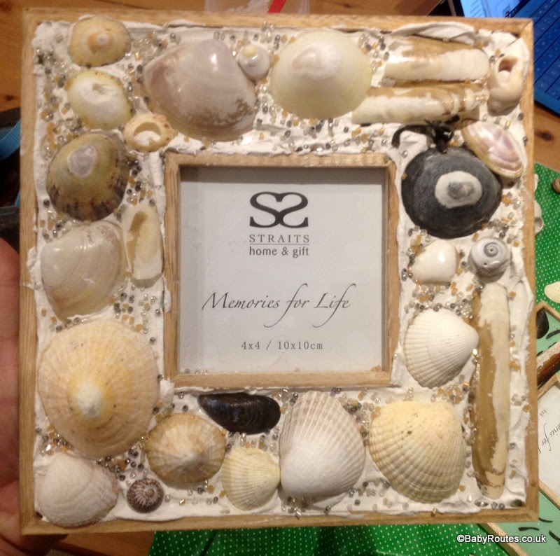Nature Crafts How To Make A Sea Shell Photo Frame Baby Routes