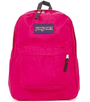 Pink Jansport Rucksack