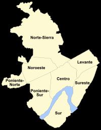Distritos de Córdoba.svg