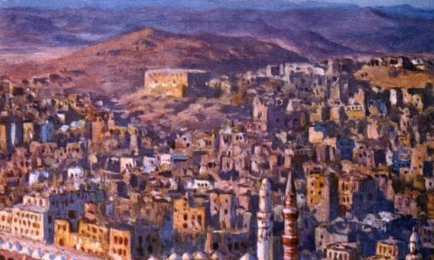 View of Mecca, 1918. Artist: Etienne Dinet