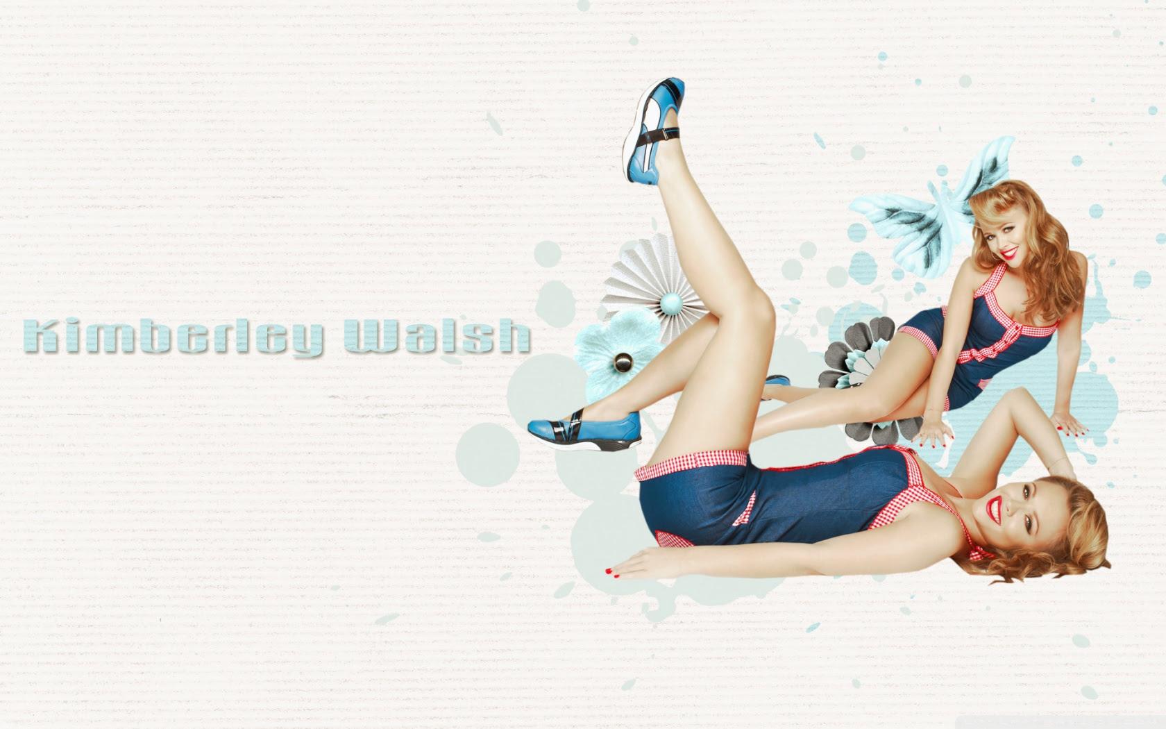 Kimberley Walsh Pin Up Girl Ultra Hd Desktop Background Wallpaper