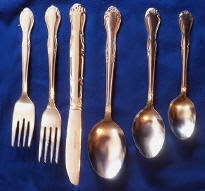 Flatware | Stainless Steel | Service for 12 | Silverware | Cutlery