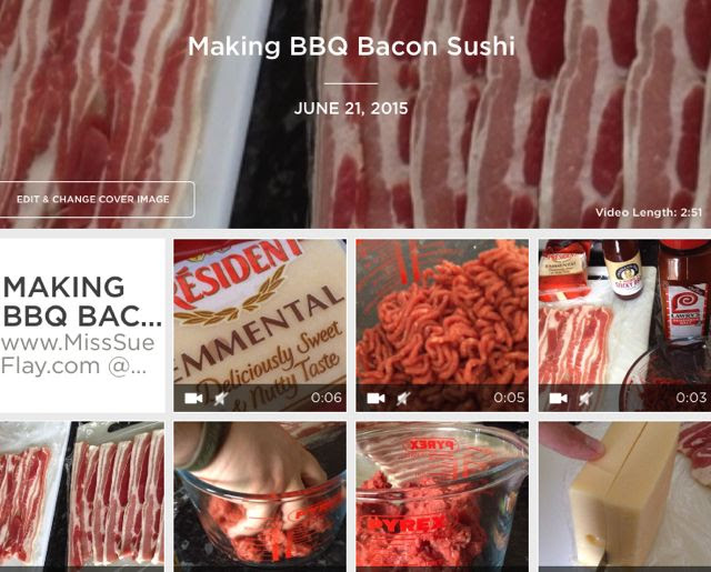 VIDEO: Making Bacon Sushi