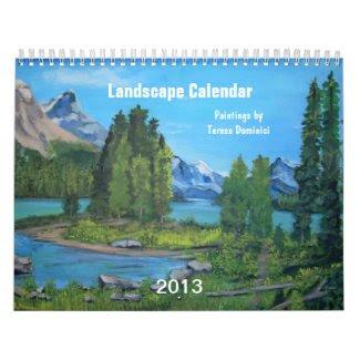 Landscape 2013 Calendar