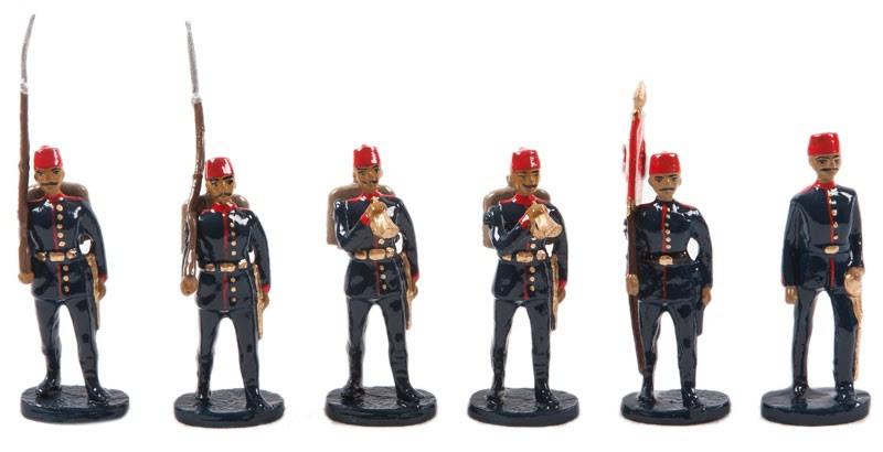 Balkan Savaşları Osmanlı Ordusu Takımı Kurşun Asker Seti Ofis
