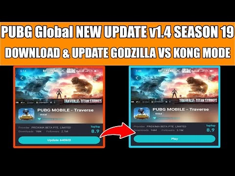 PUBG Mobile Global NEW UPDATE v1.4 SEASON 19 | HOW TO DOWNLOAD & UPDATE ...