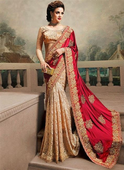 latest wedding Sarees 2017 & Cheap wedding dresses 2017
