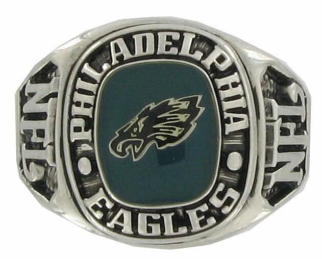 Balfour Boxed Football Nfl Philadelphia Eagles 7 Ring  Sports Teams Jewelry  ajraefields