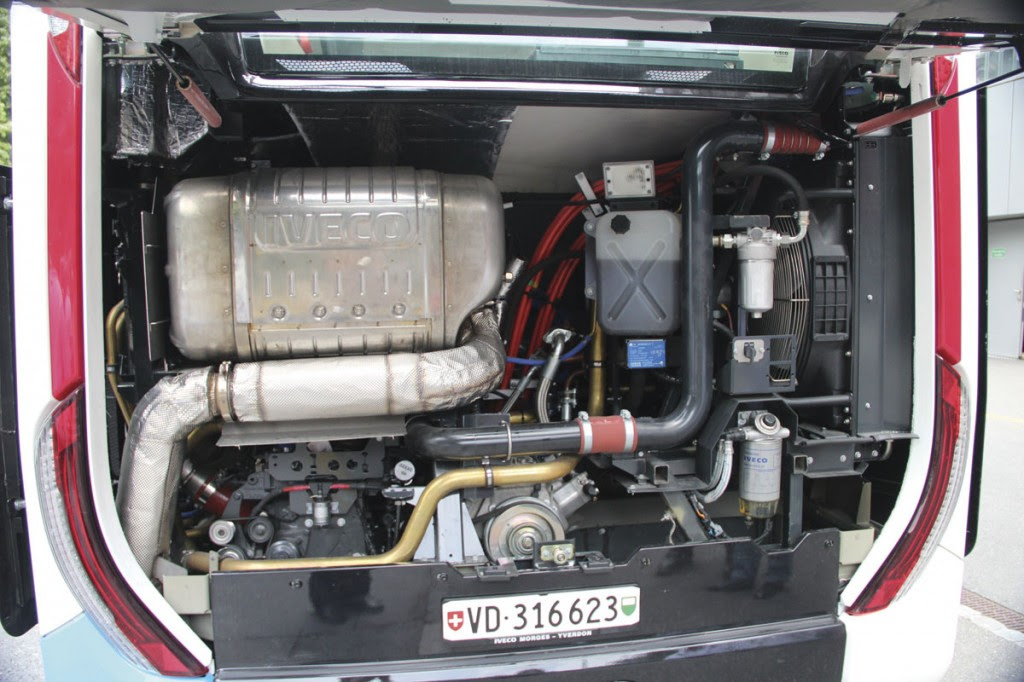Iveco Urbanway Full Hybrid Engine-
