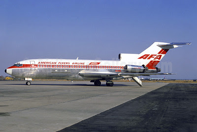 American Flyers Airline-AFA Boeing 727-185C N12826 (msn 19826) JFK (Jacques Guillem Collection). Image: 913674.