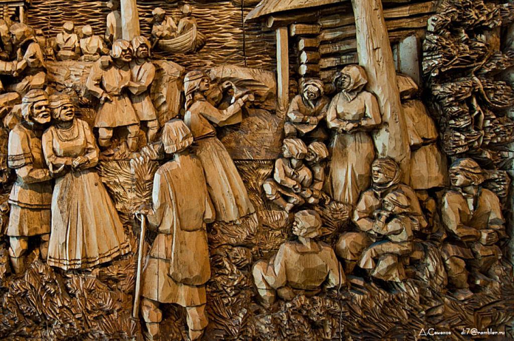 As incríveis pinturas esculpidas de Kronid Gogolev 25