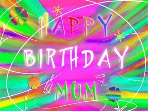 Happy Birthday Mum In Joyful Text! Free For Mom & Dad
