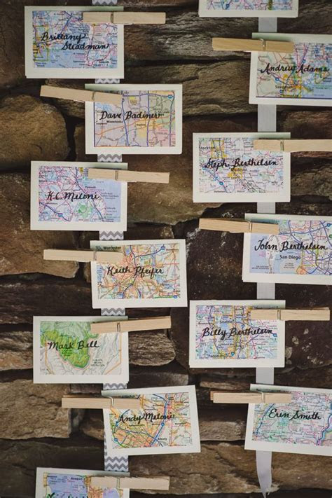 1000  images about table seating card ideas on Pinterest