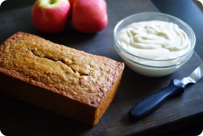 5-seed applesauce & honey bread recipe ::: bake at 350 blog