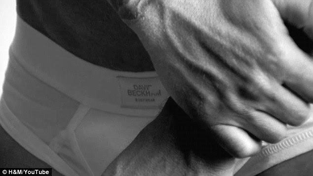 David Beckham Bodywear para a H & M Super Taça ad