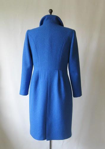 Blue coat back
