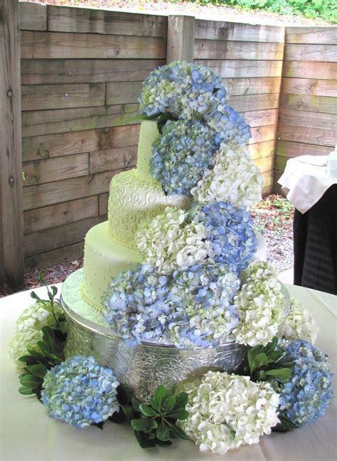 Best 25  Hydrangea wedding cakes ideas on Pinterest   Blue