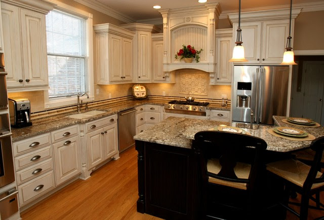 Barber Cabinet Co. - traditional - kitchen cabinets - by Barber ...