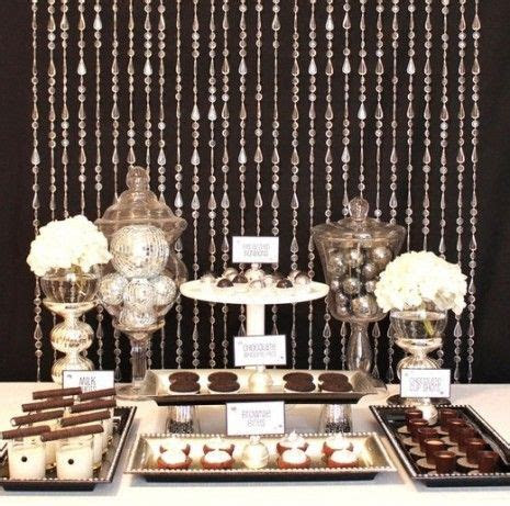 Best 25  Silver party decorations ideas on Pinterest