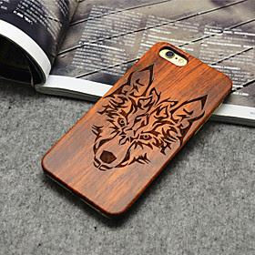 CHEAP tre iphone case Timber skog ulv totem hardt bakdekselet for iphone 6 pluss / 6s pluss OFFER