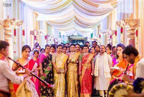 Tamil bride Telugu bride Bridal saree Kanchivaram saree