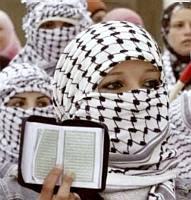 The Koran and the keffiyeh