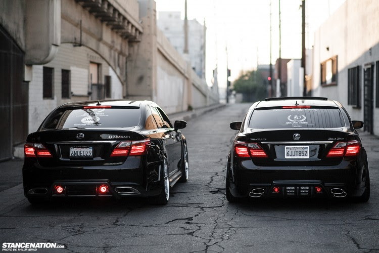For Love of the Game // Tuan and Jimmy's LS460's. | StanceNation ...