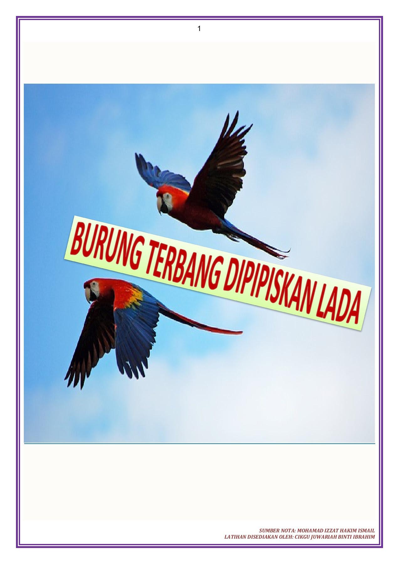 Nota Dan Latihan Prosa Tradisional Burung Terbang Dipipiskan Lada Dari Antologi Sejadah Rindu Latihan Bm Spm Pkp Tarikh 13 April 2020 Isnin Flip Ebook Pages 1 9 Anyflip Anyflip