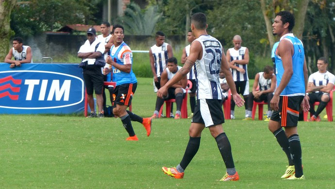 Treino Flamengo (Foto: Globoesporte.com)