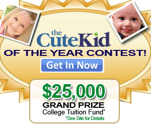 We are seeking the 2010 Cute Kid of the Year!...