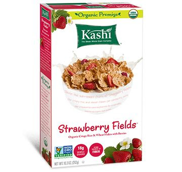 Kashi® Strawberry Fields® Cereal - vegan and very tasty looking!