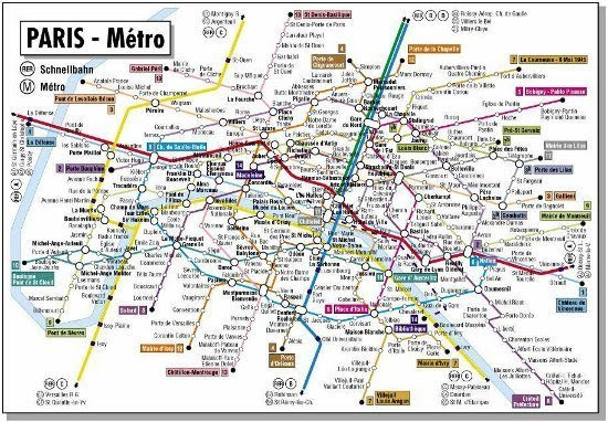 A Better Paris Metro Map