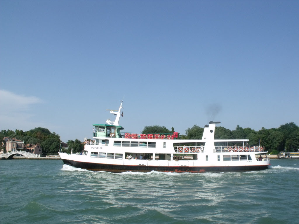 Venice - The Lagoon Cruise - boat - Poveglia