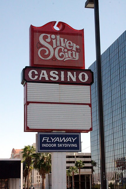 Silver City Casino sign