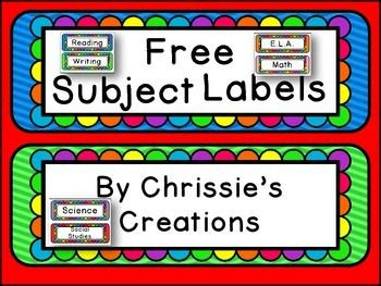 1000+ ideas about Subject Labels on Pinterest   Chevron classroom ...