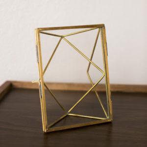 7x9 Gold Frame Ae Creative
