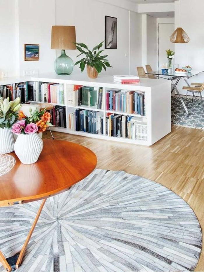 wohnzimmer und esszimmer farblich trennen - crapemrytlecottage