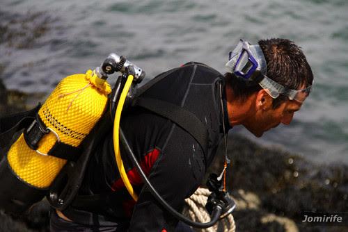Mergulhador na Figueira da Foz (1)