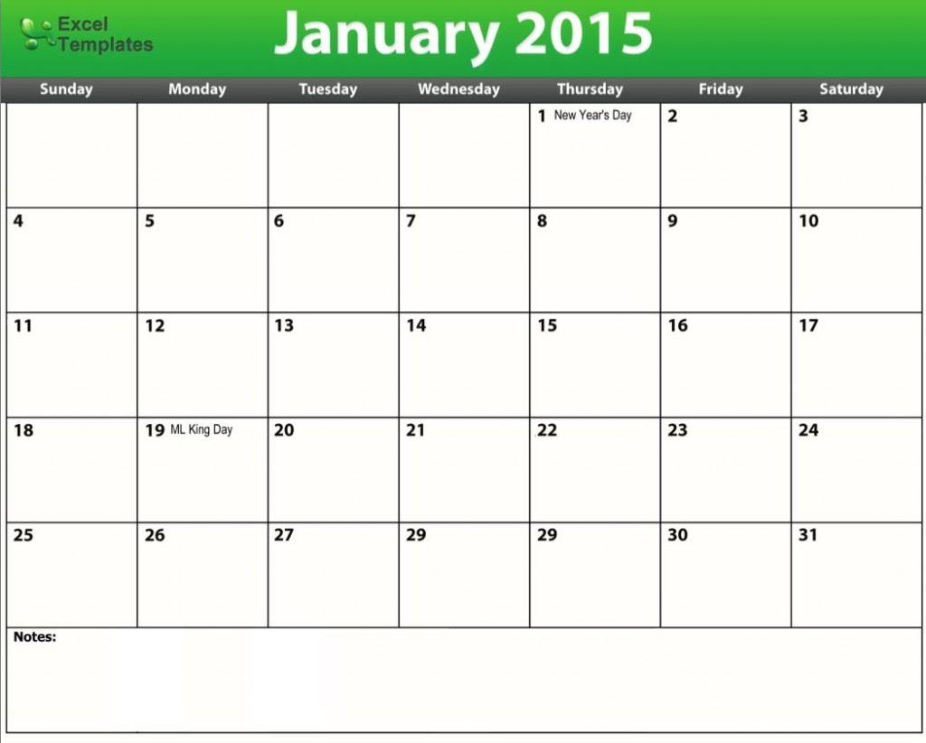 Editable Excel Calendar 2015 Calendar June