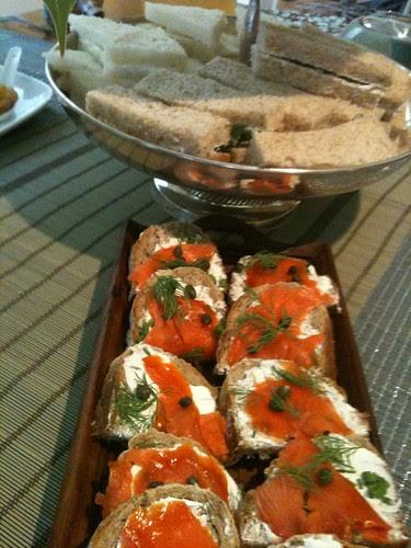 ORCAS Tea Sandwiches by Ayala Moriel