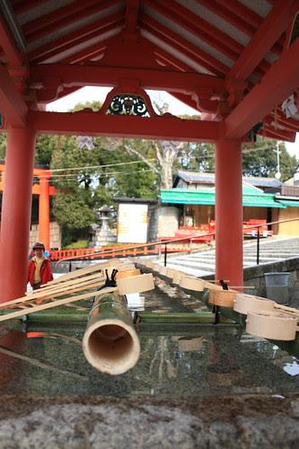 Waterpoint at Fushimi Inari Shrine