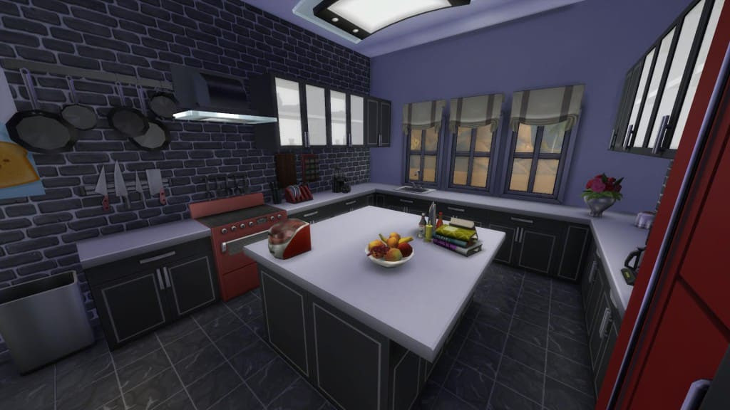 The Sims 4 Design Guide - Modern Kitchen
