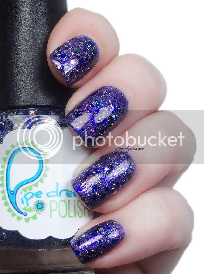 xoxoJen Pipe Dream Polish Sapphire Attire