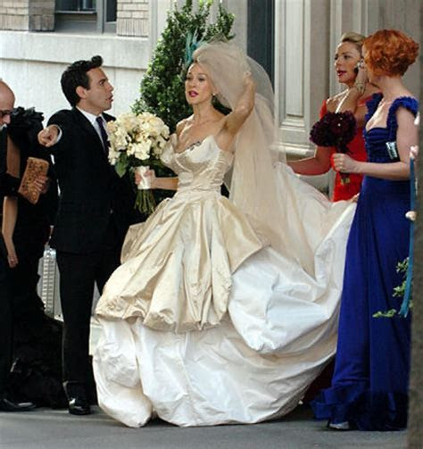 'Sex and the City' wedding   slide 1   NY Daily News
